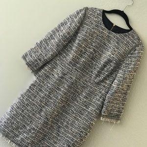 Jcrew boucle /tweed dress